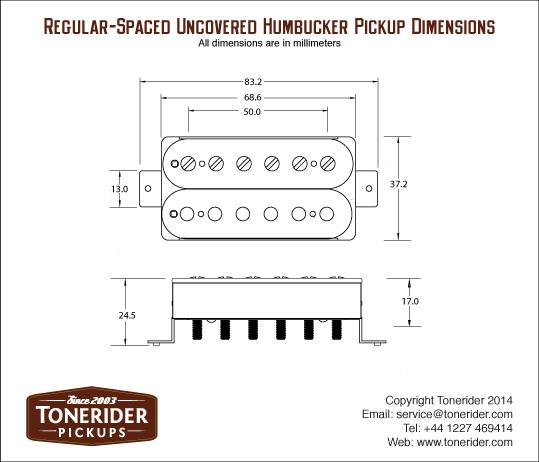tonerider generator trh 2 humbucker reverb guitar parts and more. Black Bedroom Furniture Sets. Home Design Ideas