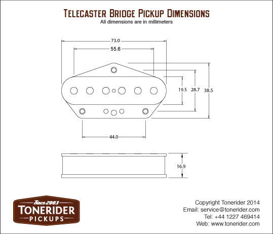 Tonerider Vintage Plus TRT-1 Set Telecaster Fr. 89.- | Reverb ...