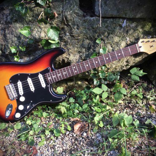 Custom Fender Squier \